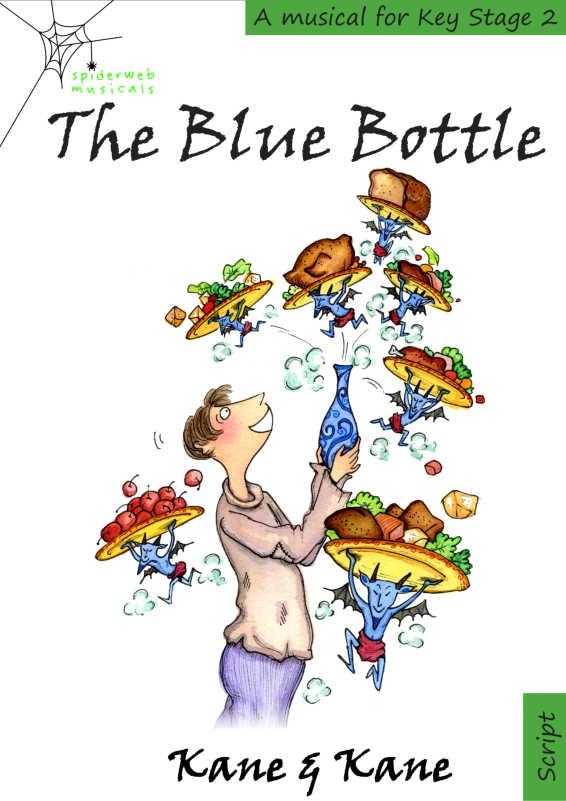 Cover of The Blue Bottle KS2 musical