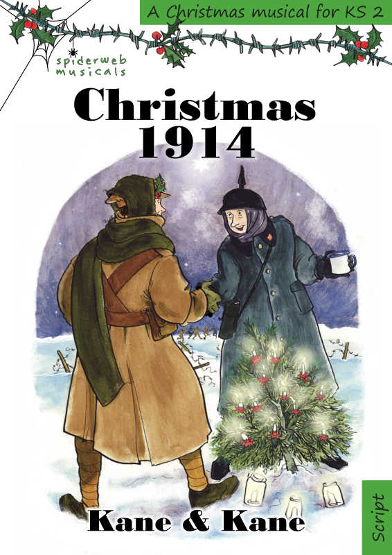 Cover of Christmas 1914, WW1 musical for KS2