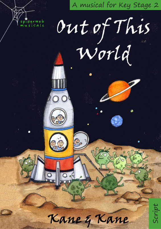Cover Out Of This World KS2 Musical